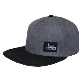 AJHB Logo Snapback - Grey/Black