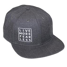Live More Fear Less Cap - Dark Grey